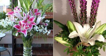 Hướng dẫn cách cắm hoa Ly đơn đẹp hút hồn