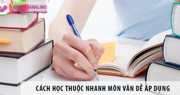 Cách học thuộc nhanh môn văn đơn giản dễ áp dụng
