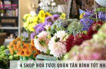 Điểm danh 4 shop hoa tươi quận Tân Bình tốt nhất